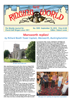 The Ringing World issue 5395