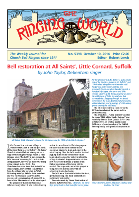 The Ringing World issue 5398