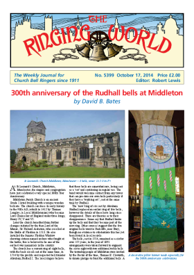 The Ringing World issue 5399