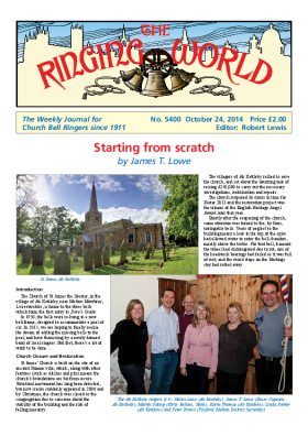 The Ringing World issue 5400