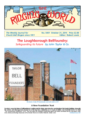 The Ringing World issue 5401