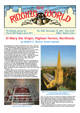 The Ringing World issue 5403