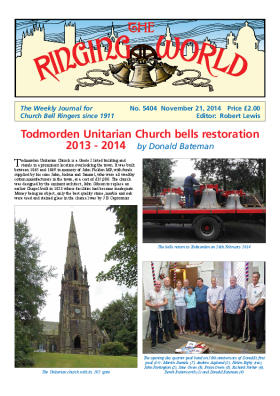 The Ringing World issue 5404