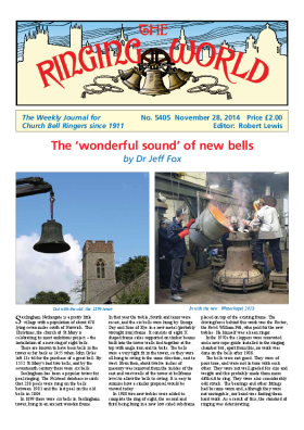 The Ringing World issue 5405