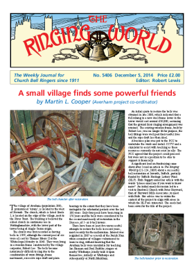 The Ringing World issue 5406