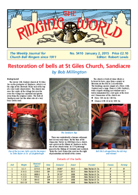 The Ringing World issue 5410