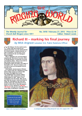 The Ringing World issue 5418