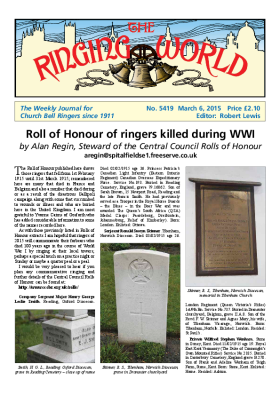 The Ringing World issue 5419