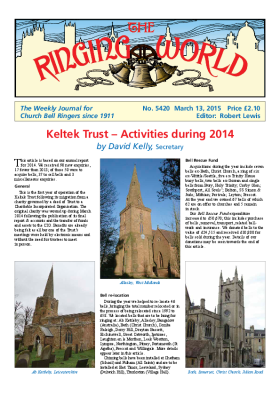 The Ringing World issue 5420