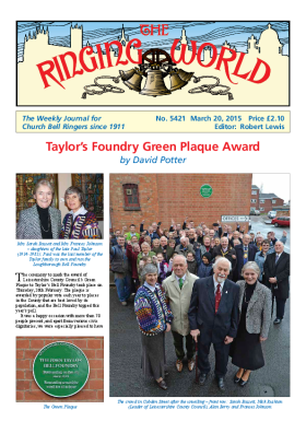 The Ringing World issue 5421