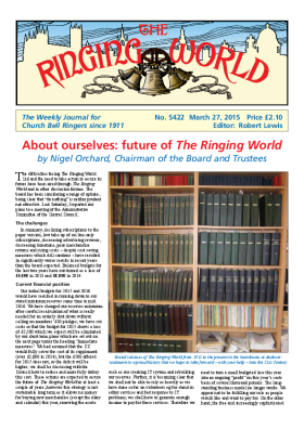 The Ringing World issue 5422