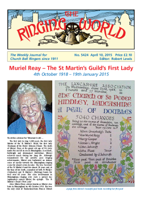 The Ringing World issue 5424