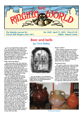 The Ringing World issue 5425