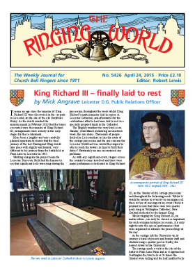 The Ringing World issue 5426