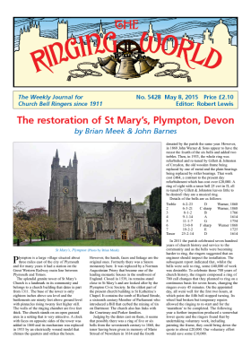 The Ringing World issue 5428