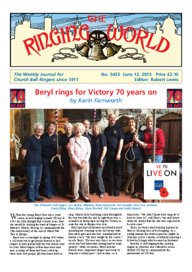 The Ringing World issue 5433