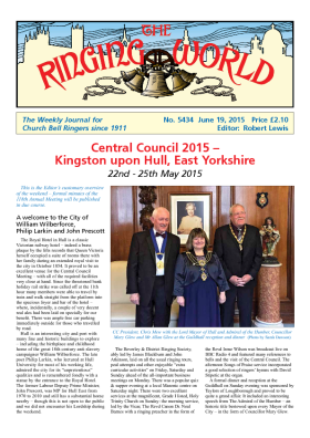 The Ringing World issue 5434