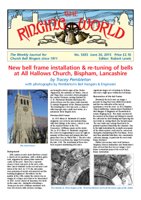 The Ringing World issue 5435