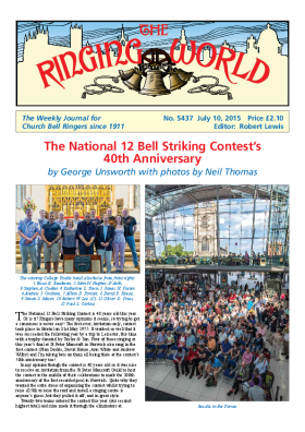 The Ringing World issue 5437