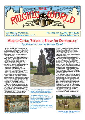 The Ringing World issue 5438