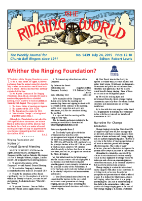 The Ringing World issue 5439