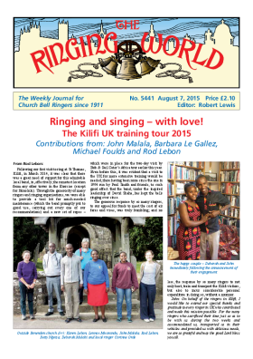 The Ringing World issue 5441