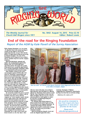 The Ringing World issue 5442