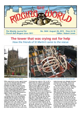 The Ringing World issue 5444