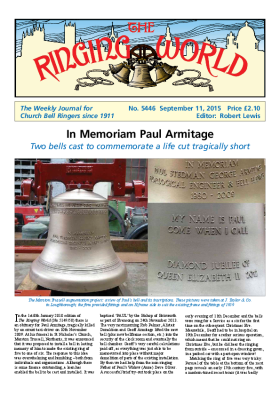 The Ringing World issue 5446