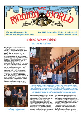 The Ringing World issue 5448