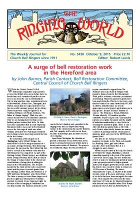The Ringing World issue 5450