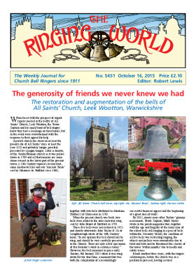The Ringing World issue 5451