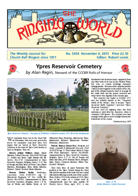 The Ringing World issue 5454