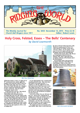 The Ringing World issue 5455