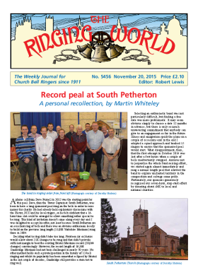 The Ringing World issue 5456