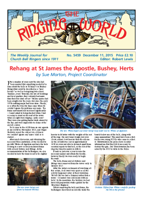The Ringing World issue 5459