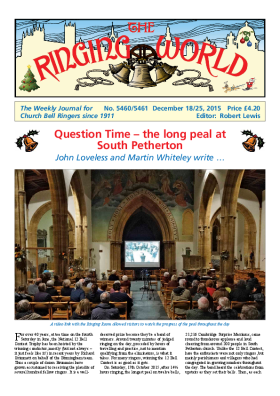 The Ringing World issue 5460