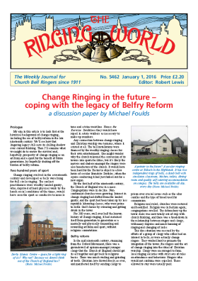 The Ringing World issue 5462