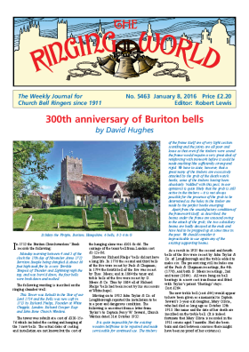 The Ringing World issue 5463