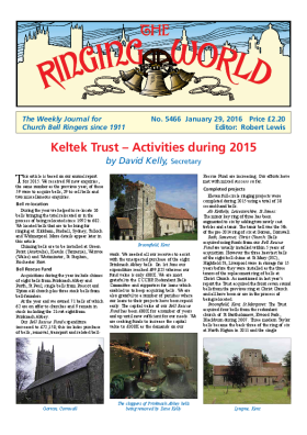 The Ringing World issue 5466