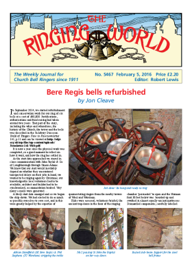 The Ringing World issue 5467