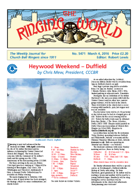 The Ringing World issue 5471