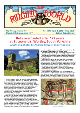 The Ringing World issue 5476
