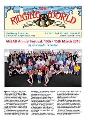 The Ringing World issue 5477