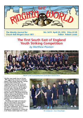 The Ringing World issue 5479