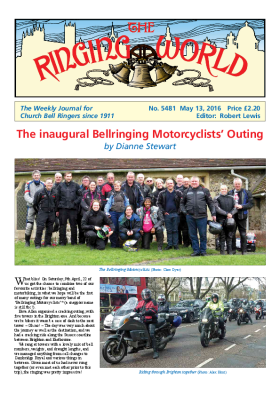 The Ringing World issue 5481