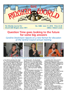 The Ringing World issue 5486