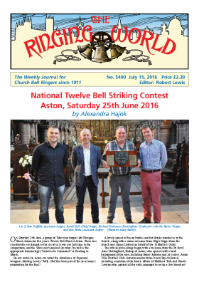 The Ringing World issue 5490