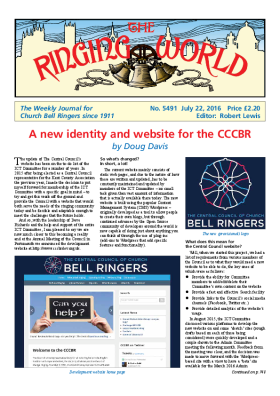 The Ringing World issue 5491