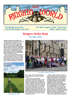 The Ringing World issue 5493